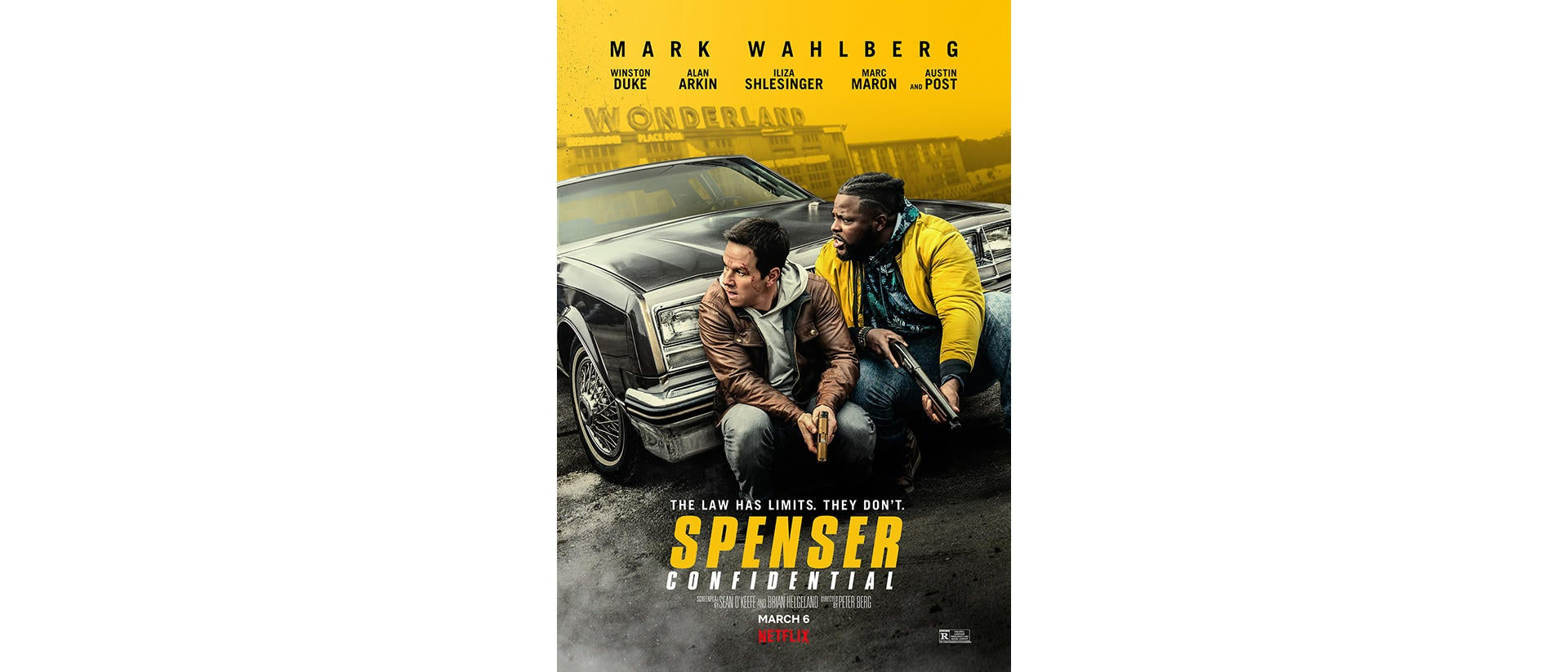Official Trailer Spenser Confidential With Mark Wahlberg Shot On Venice Sony Cine